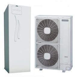 Тепловые насосы Hitachi RAS-3WHVNP / RWD3.0NWE